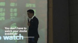 You Don't Have To Watch Your Stocks Everyday