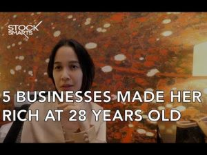 SHE HAS 5 BUSINESSES AT 28 YEARS OLD